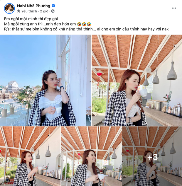 Nhã Phương than phải để ép cân vì được ông xã tẩm bổ quá nhiều mùa Tết, netizen nói gì mà cô phải đổi status ngay? - Ảnh 3.