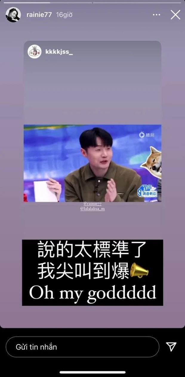 Được Lisa (BLACKPINK) gọi tên trên truyền hình, Dương Thừa Lâm quả là fan cứng thành công! - Ảnh 2.