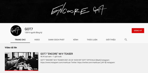 GOT7 làm fan sốc toàn tập khi lập hẳn kênh YouTube mới và đánh úp giữa đêm thông báo sẽ ra MV ngay hôm nay! - Ảnh 2.