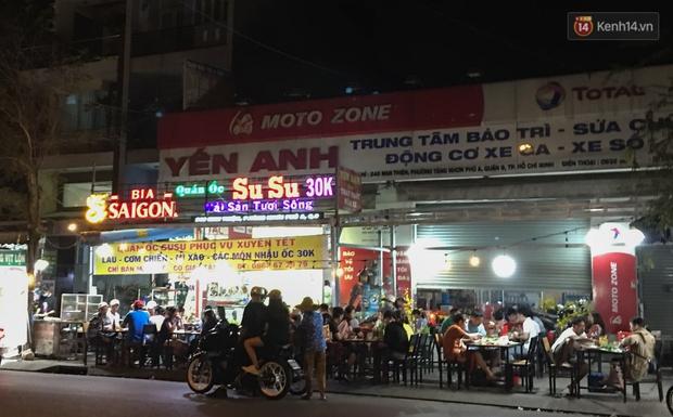 """Quán nhậu ở TP. Thủ Đức, beer club trên """"phố nhậu"""" Phạm Văn Đồng vẫn chật kín khách trong cao điểm phòng dịch Covid-19 - Ảnh 15."""