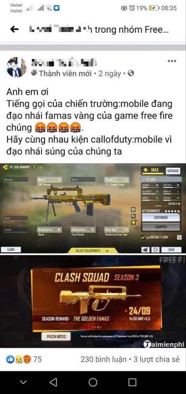 Game thủ Free Fire đòi kiện bom tấn đang chết dần của VNG vì đạo nhái và ăn cắp ý tưởng game của mình - Ảnh 3.