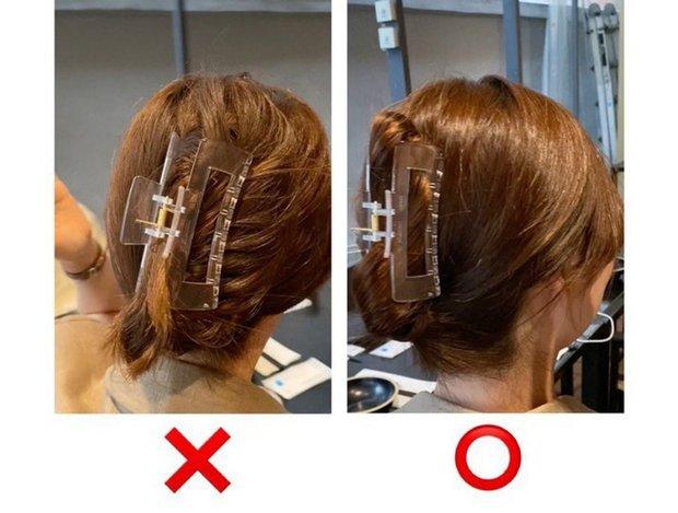 Chiêu búi tóc chuẩn đẹp với kẹp càng cua, giúp bạn sống ảo mọi góc chụp - Ảnh 2.