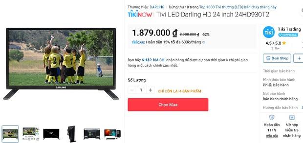 10 tivi mẫu mã sang xịn giá dưới 5 triệu sắm đón Tết là hợp lý - Ảnh 1.
