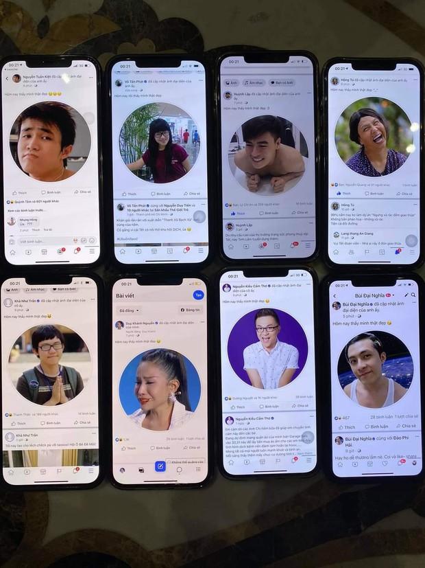 Cư dân mạng xôn xao khi sao Việt đồng loạt thay avatar Facebook dìm đồng nghiệp, riêng iFan lại chú ý tới một điều khác biệt - Ảnh 1.