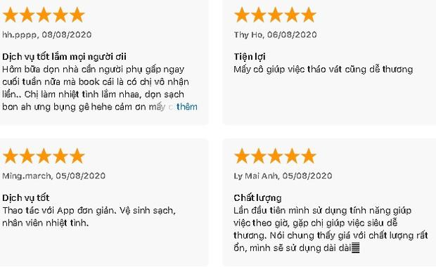 3 dịch vụ dọn nhà chất lượng, nhiều review tốt được dân tình gọi nhiều nhất: Giá chỉ từ 55k/giờ - Ảnh 4.