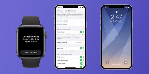 iOS 14.5 giúp mở khoá iPhone khi đeo khẩu trang mà không cần nhập mật khẩu - Ảnh 1.