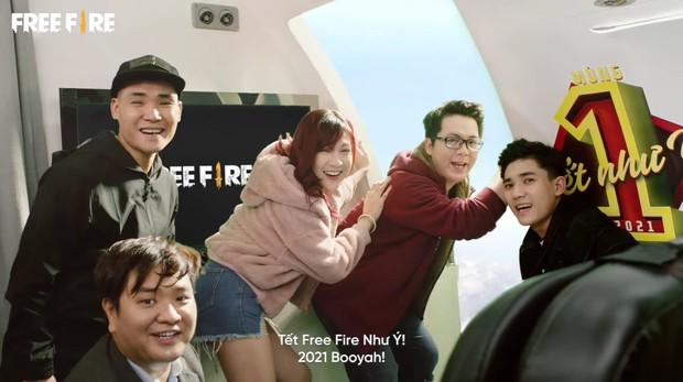 Dàn streamer đình đám của Free Fire bất ngờ hóa thân thành phi công, tiếp viên hàng không, tiết lộ quà Tết khủng cho game thủ - Ảnh 3.