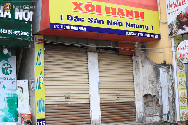 Ảnh: Hàng quán Hà Nội nơi đìu hiu, nơi phải đóng cửa vì ảnh hưởng của dịch Covid -19 - Ảnh 8.