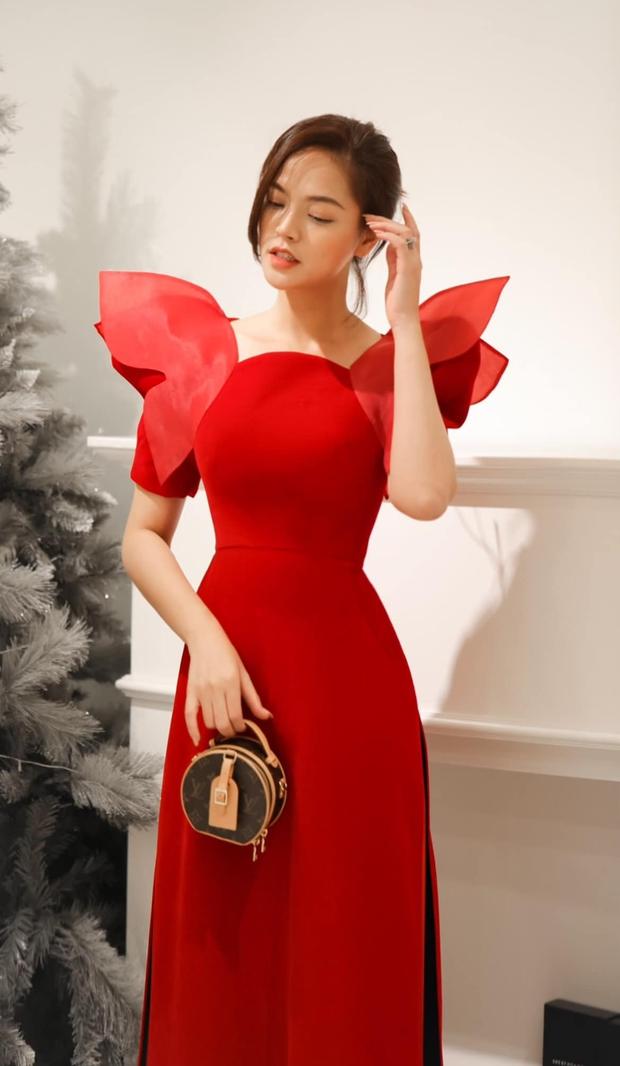 Ninh Dương Lan Ngọc, Khánh Linh và loạt mỹ nhân Vbiz đụng chung 1 kiểu áo dài, ai diện đẹp nhất? - Ảnh 7.