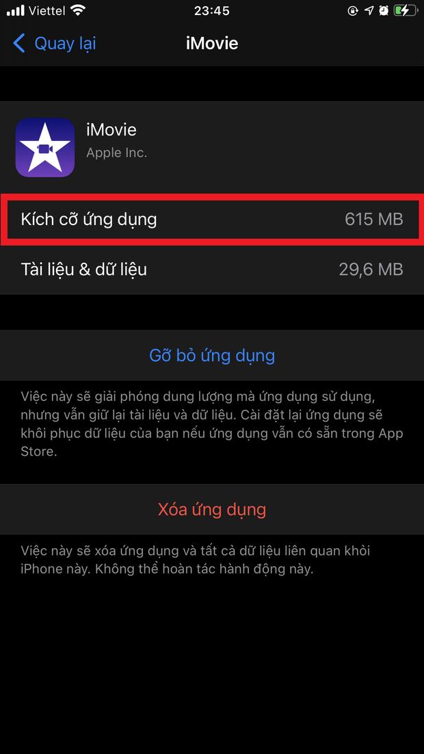 Mẹo hay giải phóng bộ nhớ iPhone cực đỉnh, không thử hơi phí! - Ảnh 4.