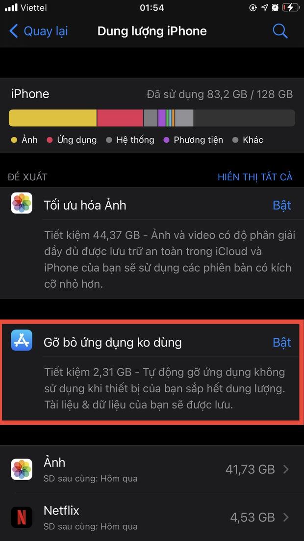 Mẹo hay giải phóng bộ nhớ iPhone cực đỉnh, không thử hơi phí! - Ảnh 9.