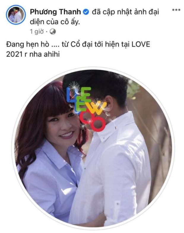 """Học """"trend"""" từ Mỹ Tâm, Phương Thanh công khai tình yêu và lộ luôn khoảng cách hơn 21 tuổi? - Ảnh 2."""