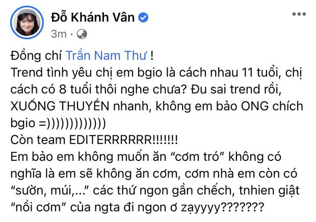 Khánh Vân bắt trend tình chị em cách 11 tuổi nhưng sai chính tả tiếng Anh - Ảnh 6.