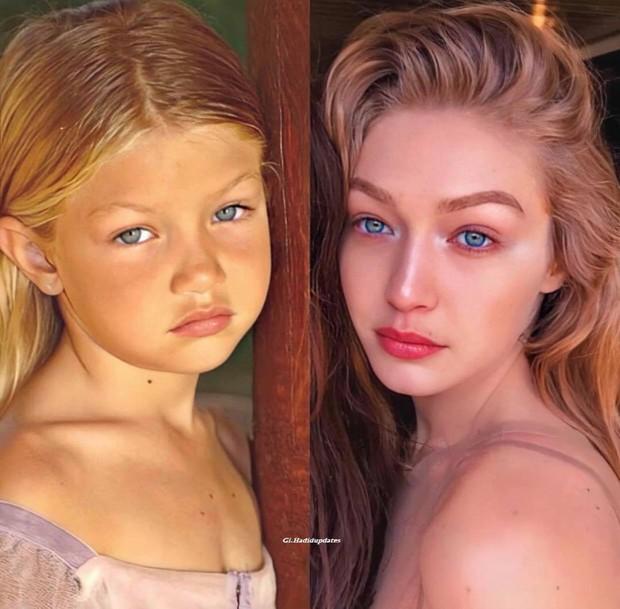 Ảnh hồi bé của Gigi Hadid gây bão: Tóc vàng mắt xanh xinh như búp bê, nhìn là đoán ngay visual cực phẩm của con gái mới sinh - Ảnh 10.
