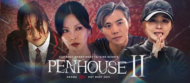 Netizen muốn trầm cảm với cảnh hôn nuốt môi của bộ đôi tấu hài ở Penthouse 2 - Ảnh 8.