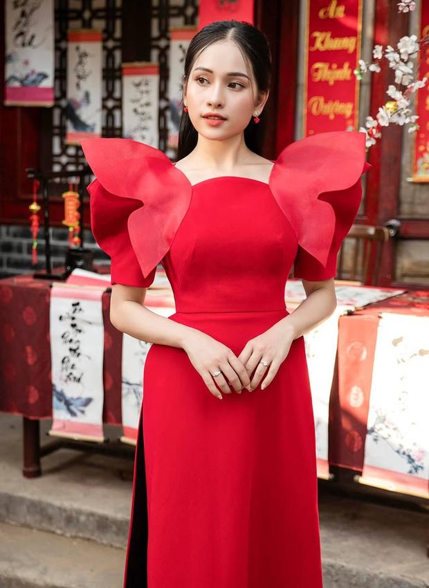 Ninh Dương Lan Ngọc, Khánh Linh và loạt mỹ nhân Vbiz đụng chung 1 kiểu áo dài, ai diện đẹp nhất? - Ảnh 8.