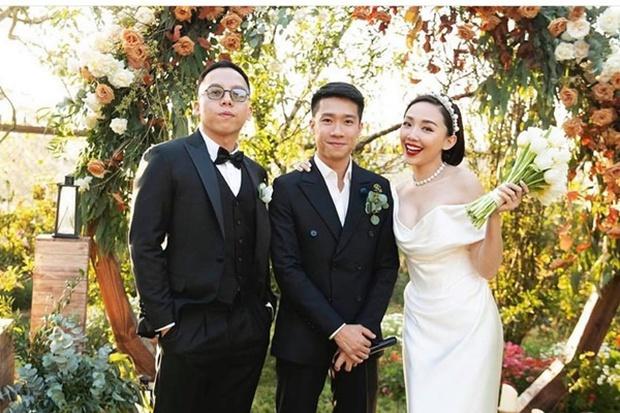Tóc Tiên diện lại đầm cô dâu lên Đà Lạt kỷ niệm 1 năm cưới theo style chị đại Lee Hyori, vòng 1 bốc lửa o ép chiếm spotlight - Ảnh 5.
