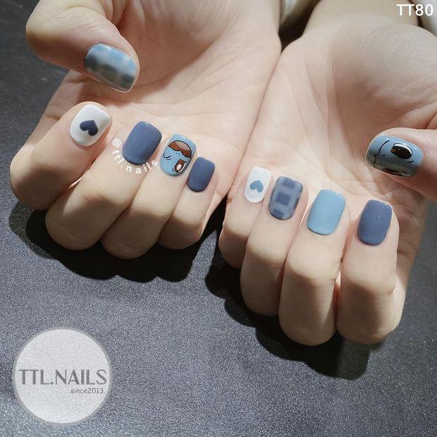 Sau Tết muốn tậu bộ nail đơn giản, xinh yêu thì bạn hãy tia 8 mẫu hot nhất tại các tiệm lúc này - Ảnh 5.
