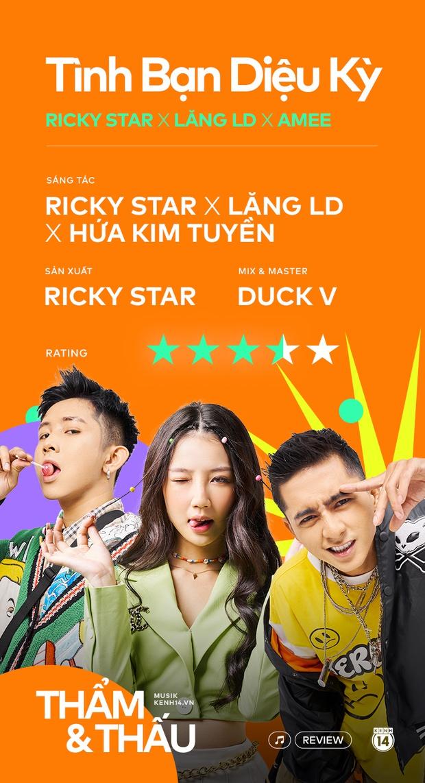 Tình Bạn Diệu Kỳ - Sức mạnh của câu hook bắt tai đến ám ảnh của Ricky Star và AMEE - Ảnh 10.