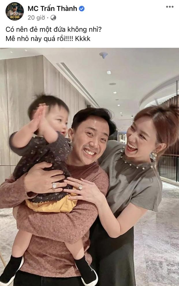 Trấn Thành lên tiếng bảo vệ Hari Won khi chuyện con cái bị bàn tán: Chưa có bác sĩ nào nói vợ tôi khó có con cả! - Ảnh 3.