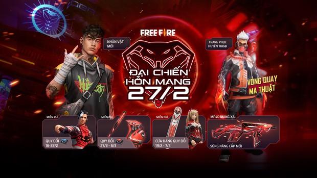 Free Fire: Game thủ nhận miễn phí skin nhân vật Mãng Xà Thần trong sự kiện mới nhất - Ảnh 7.