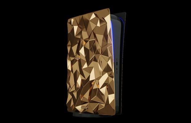 Phát thèm với phiên bản PlayStation 5 mạ vàng 18 cara trị giá tới 500 ngàn USD của Caviar - Ảnh 1.
