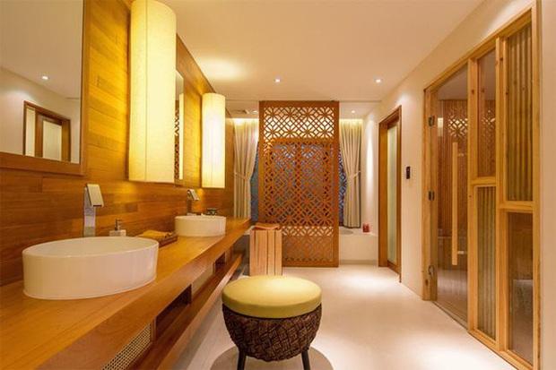 Quang Dũng sở hữu biệt thự 400m2 đẹp và sang như resort, nhà mới mua cũng có gu không kém - Ảnh 8.
