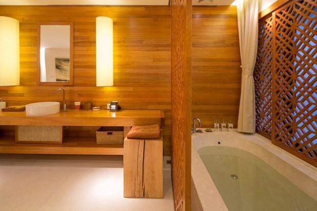 Quang Dũng sở hữu biệt thự 400m2 đẹp và sang như resort, nhà mới mua cũng có gu không kém - Ảnh 7.