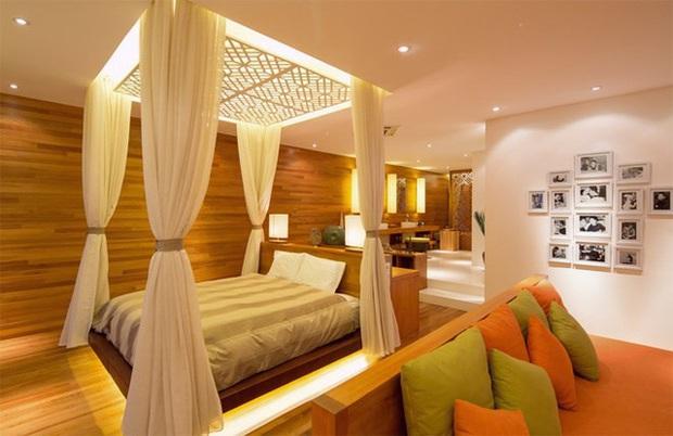 Quang Dũng sở hữu biệt thự 400m2 đẹp và sang như resort, nhà mới mua cũng có gu không kém - Ảnh 6.