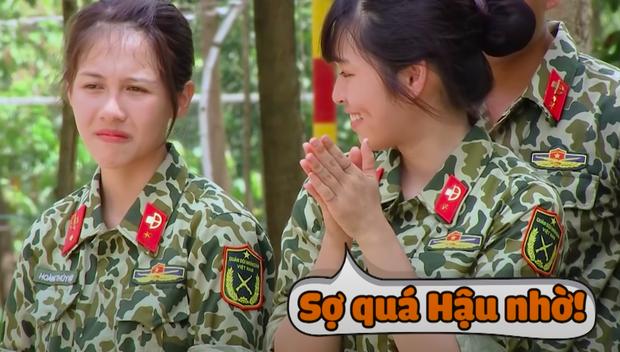 Nam Thư, Khánh Vân bật khóc khi chứng kiến màn biểu diễn khí công nguy hiểm tại Sao Nhập Ngũ - Ảnh 3.