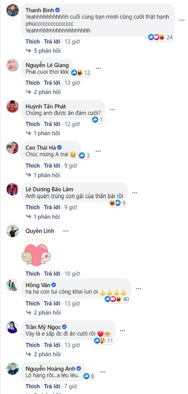 Minh Luân bất ngờ công khai bạn gái, Quyền Linh - Hồng Vân và cả dàn sao Vbiz đều ồ ạt chúc mừng - Ảnh 5.