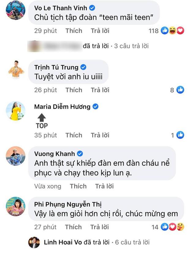 Người chơi hệ MXH đỉnh nhất Vbiz gọi tên NS Hoài Linh: Đạt nửa triệu đăng kí sau 2 tuần, con trai và dàn sao Vbiz chúc mừng - Ảnh 7.
