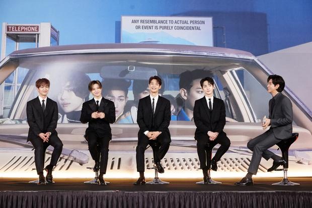 SHINee xuất hiện đầy lịch lãm tại họp báo comeback, tiết lộ ca khúc chủ đề đã suýt được trao cho một idol nữ nhà SM! - Ảnh 7.