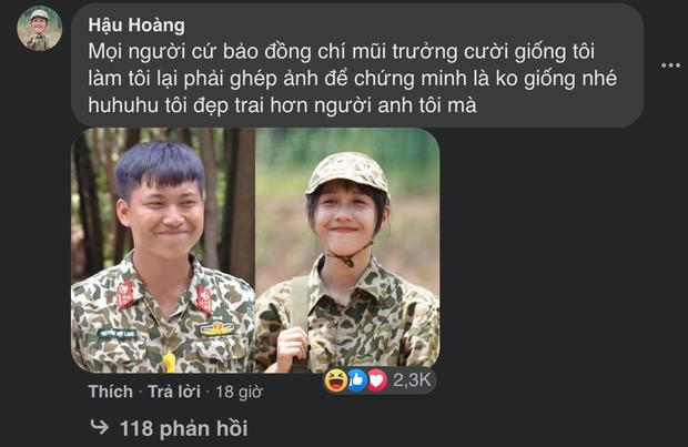 Netizen tâm đắc ảnh ghép Hậu Hoàng - Mũi trưởng Long lộ tướng phu thê, danh tính tác giả gây bất ngờ lớn - Ảnh 2.