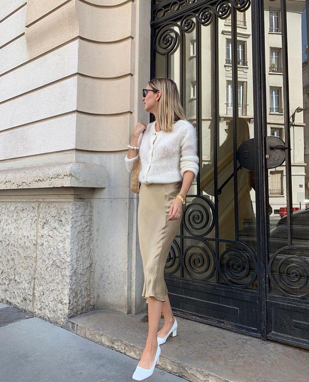 Chỉ bằng cách học 10 công thức diện chân váy chuẩn sang xịn của gái Pháp, style của bạn sẽ lên một tầm cao mới - Ảnh 2.
