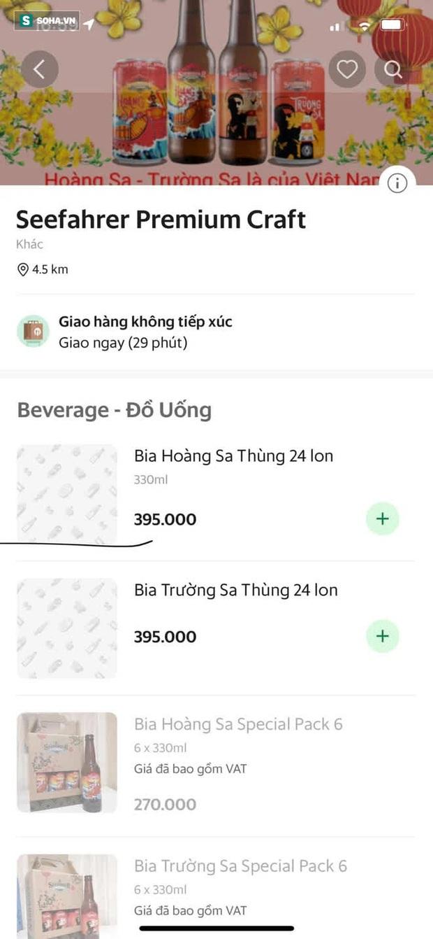 Bia Việt Nam đầu tiên mang tên Hoàng Sa, Trường Sa: Trên vỏ chai có bảng lệnh của vua Gia Long - Ảnh 3.