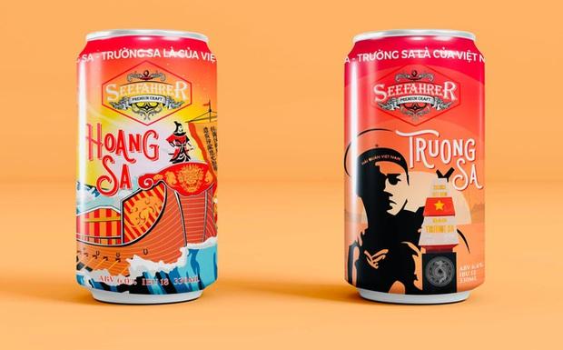 Bia Việt Nam đầu tiên mang tên Hoàng Sa, Trường Sa: Trên vỏ chai có bảng lệnh của vua Gia Long - Ảnh 1.