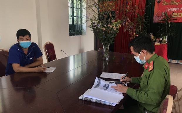 Nam thanh niên đăng thông tin sai sự thật về khẩu phần ăn trong khu cách ly ở Quảng Ninh - Ảnh 1.