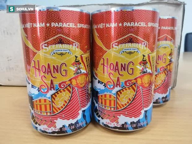 Bia Việt Nam đầu tiên mang tên Hoàng Sa, Trường Sa: Trên vỏ chai có bảng lệnh của vua Gia Long - Ảnh 4.
