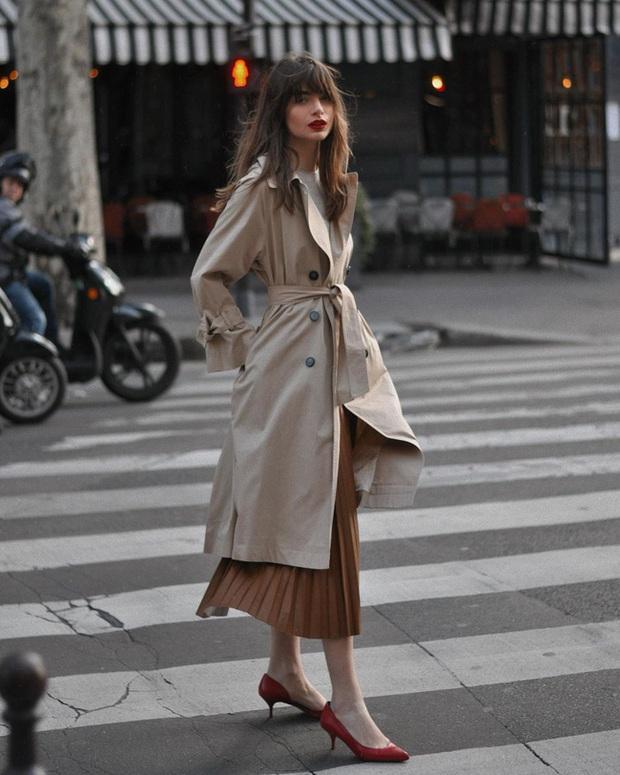 Chỉ bằng cách học 10 công thức diện chân váy chuẩn sang xịn của gái Pháp, style của bạn sẽ lên một tầm cao mới - Ảnh 4.