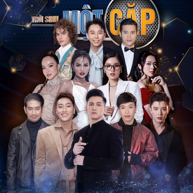 Diễn viên Đỗ An, Hoa hậu Ngọc Châu, stylist Hoàng Ku... cầm mic khoe giọng trong Trời Sinh Một Cặp mùa 5 - Ảnh 1.