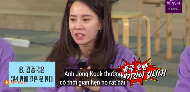 Fan SpartAce lại rần rần vì loạt skin-ship quá tự nhiên giữa Kim Jong Kook và Song Ji Hyo trên Running Man - Ảnh 5.