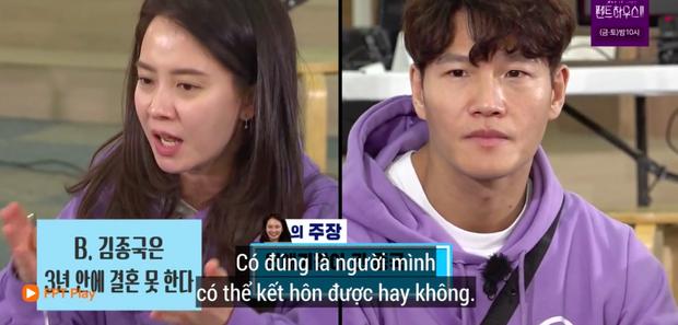 Fan SpartAce lại rần rần vì loạt skin-ship quá tự nhiên giữa Kim Jong Kook và Song Ji Hyo trên Running Man - Ảnh 6.