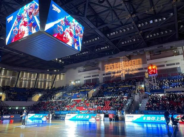 LMHT: Tốc Chiến đang phô trương danh tiếng bằng việc quảng bá tại giải bóng rổ tầm cỡ ở Đài Loan - Ảnh 1.