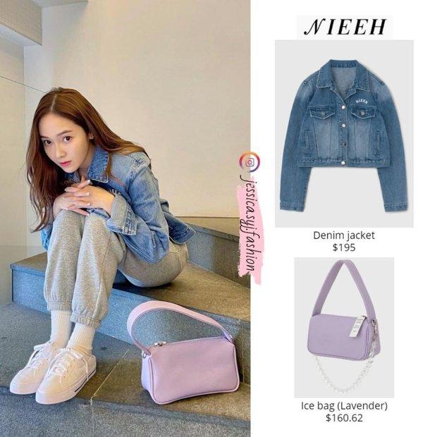 Jessica khoe visual như gái 18, netizen soi vào áo denim và phát hiện ngay chi tiết liên quan tới Jennie - Ảnh 3.