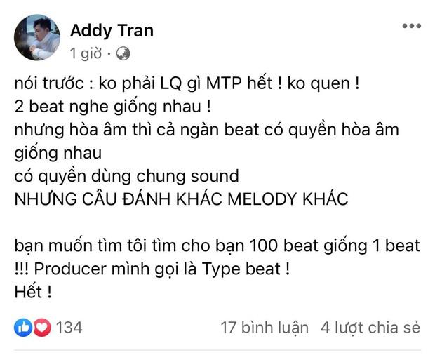 Trước lùm xùm của Sơn Tùng, producer King Of Rap khẳng định có thể tìm 100 beat giống 1 beat, thành viên Chillies cũng ẩn ý bênh vực - Ảnh 4.