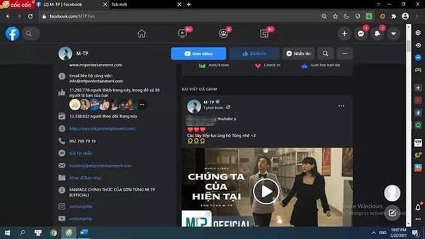 Xuất hiện hàng loạt hình ảnh giả phát ngôn của Sơn Tùng M-TP trên Facebook, YouTube với lời lẽ gây sốc - Ảnh 3.