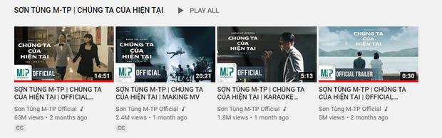 Sau bão đạo nhạc, MV Chúng Ta Của Hiện Tại của Sơn Tùng M-TP chính thức quay trở lại trên YouTube, lượt view có còn nguyên vẹn? - Ảnh 4.