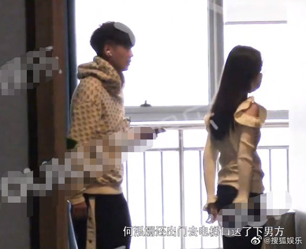 Tiểu Triệu Lệ Dĩnh bị tung ảnh hẹn hò ngay đầu năm mới: Nắm tay nhau vào khách sạn, nam chính gây bão vì quá đẹp trai - Ảnh 4.