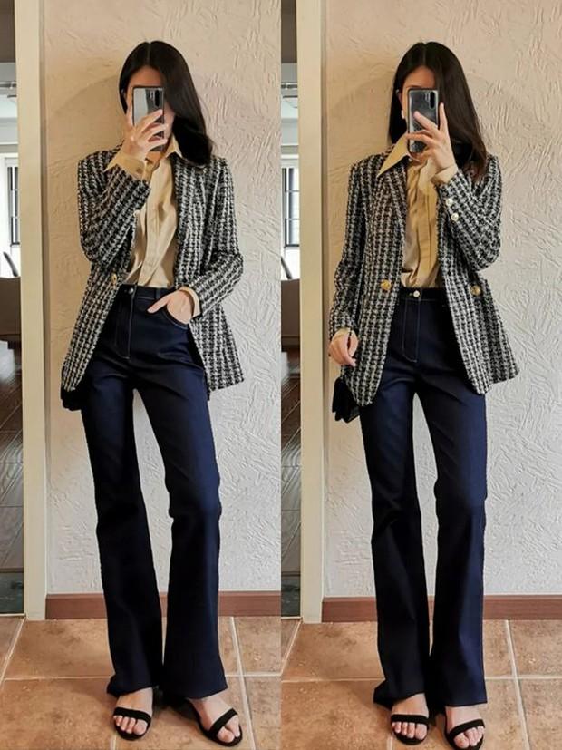 Nàng công sở muốn mặc đẹp đừng bỏ qua 14 công thức diện quần này, toàn combo chuẩn xịn từ hội gái Pháp - Ảnh 11.